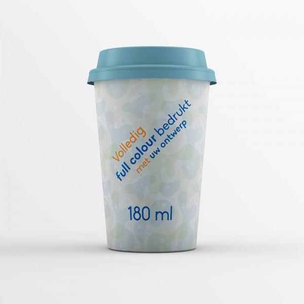 Koffiebekers bedrukken 180ml