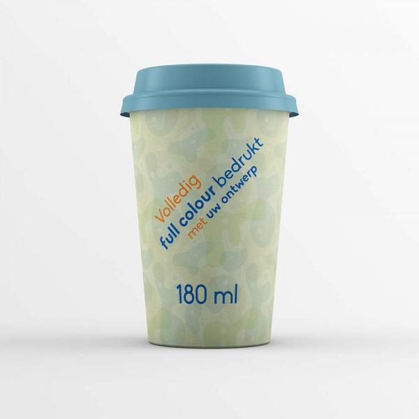 Koffiebekers composteerbaar 180ml