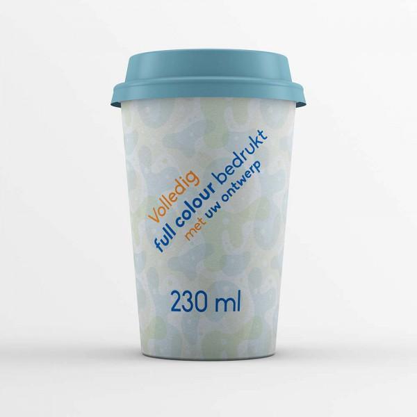 Koffiebekers bedrukken 230ml