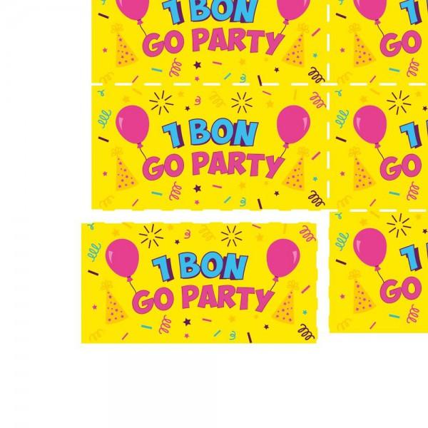 Consumptiebon Festival 9.10 • 1.000 bonnen